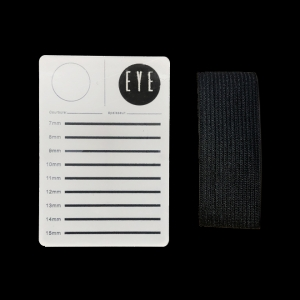 Palette à main pour extensions de cils vendue avec son scratch