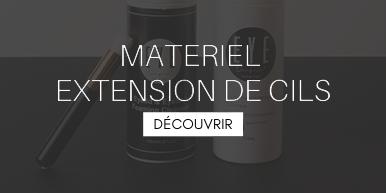 Materiel extensions de cils
